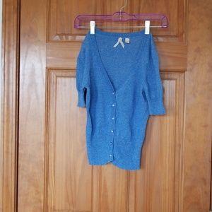 Maeve Short sleeved cardigan